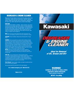 Kawasaki Degreaser